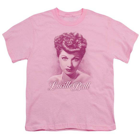 Lucille Ball Pearls Short Sleeve Youth T-Shirt
