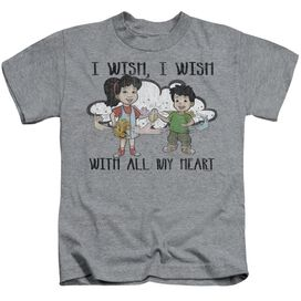 Dragon Tales I Wish With All My Heart Short Sleeve Juvenile Athletic T-Shirt