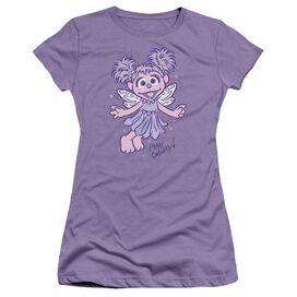 Sesame Street Simple Abby Short Sleeve Junior Sheer T-Shirt