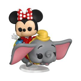 Funko Pop! Rides: Disneyland 65th Anniversary - Dumbo The Flying Elephant Attraction and Minnie Mouse