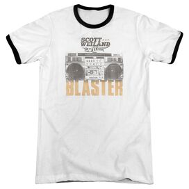 Scott Weiland Blaster Adult Ringer White Black