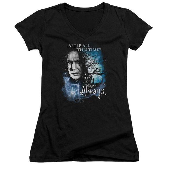 Harry Potter Always Junior V Neck T-Shirt
