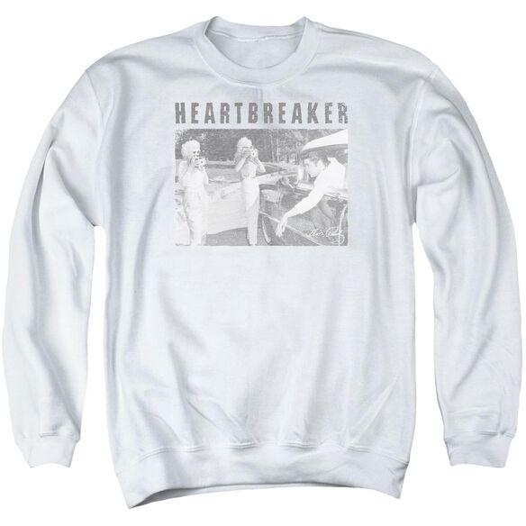 Elvis Heartbreaker Adult Crewneck Sweatshirt