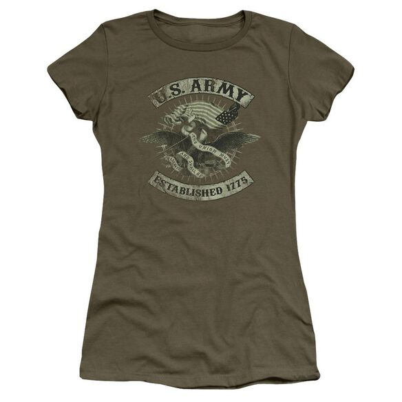 Army Union Eagle Short Sleeve Junior Sheer Military T-Shirt