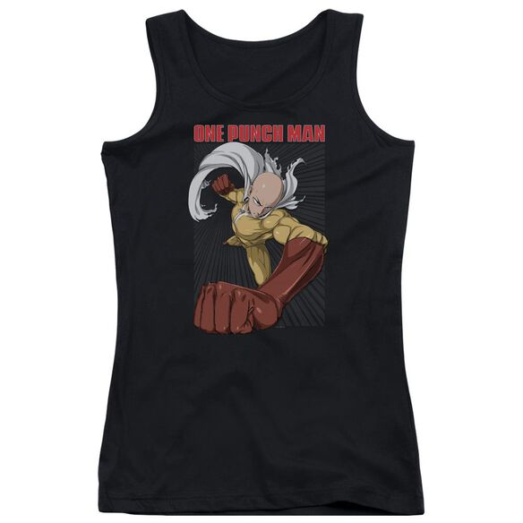 One Punch Man Heroic Fist Juniors Tank Top