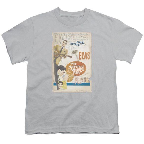 Elvis World Fair Poster Short Sleeve Youth T-Shirt