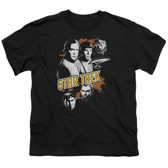 Star Trek Graphic Good Vs Evil Short Sleeve Youth T-Shirt