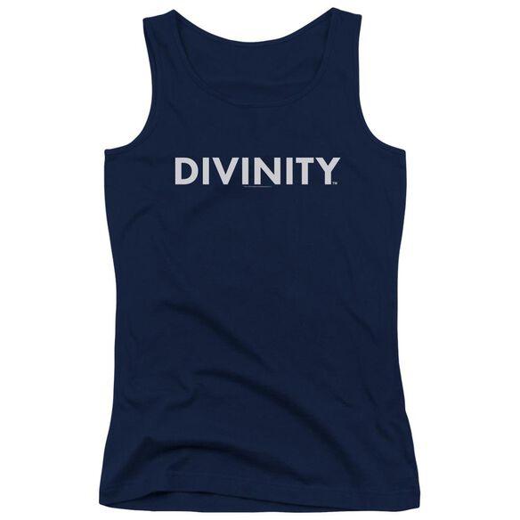 Valiant Divinity Logo Juniors Tank Top