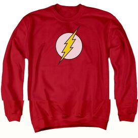DC FLASH FLASH LOGO - ADULT CREWNECK SWEATSHIRT