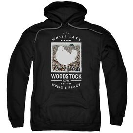Woodstock Birds Eye View Adult Pull Over Hoodie