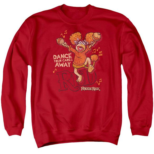 Fraggle Rock Dance Adult Crewneck Sweatshirt
