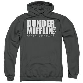 The Office Dunder Mifflin Adult Pull Over Hoodie