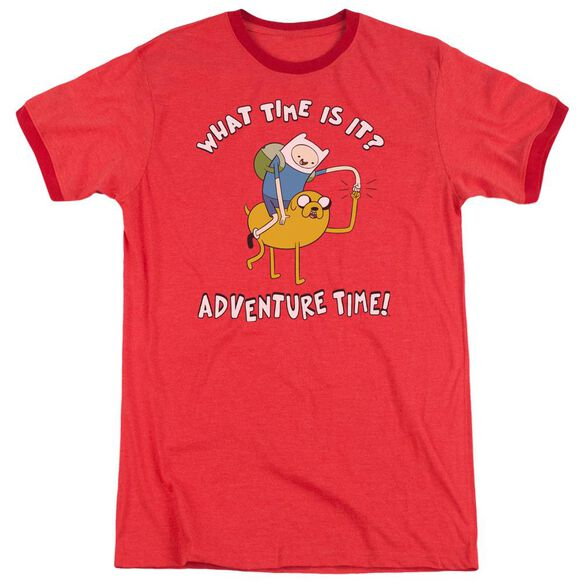 Adventure Time Ride Bump Adult Ringer Red
