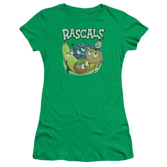 Dubble Bubble Rascals Short Sleeve Junior Sheer Kelly T-Shirt