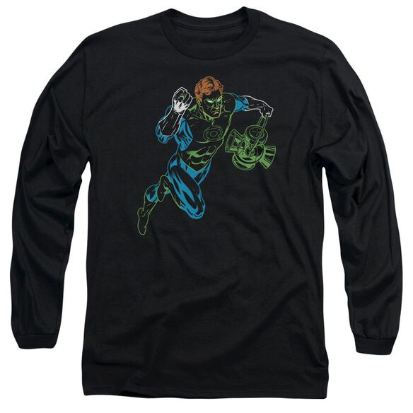Gl Neon Lantern Long Sleeve Adult T-Shirt