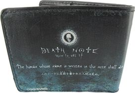 Death Note First Rule Wallet