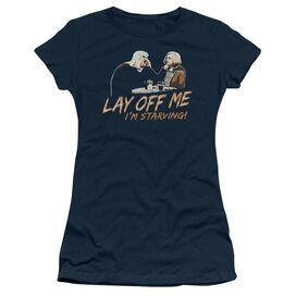 Snl Lay Off Me Short Sleeve Junior Sheer T-Shirt