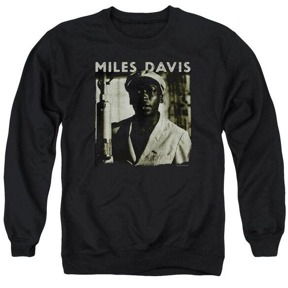 Miles Davis Miles Portrait Adult Crewneck Sweatshirt