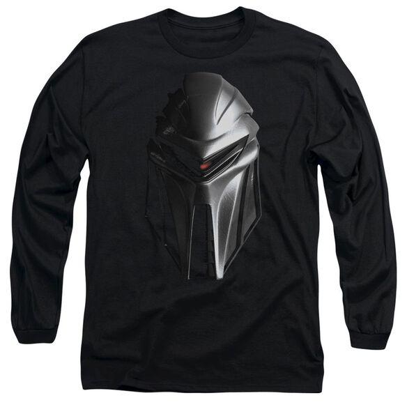BSG CYLON HEAD - L/S ADULT 18/1 - BLACK T-Shirt