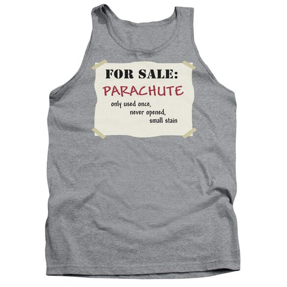 Parachute For Sale - Adult Tank - Athletic Heather