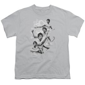 Bruce Lee In Motion Short Sleeve Youth T-Shirt
