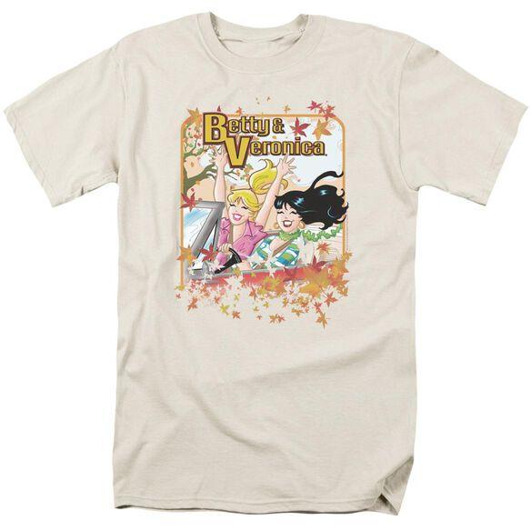Archie Comics Fall Colors Short Sleeve Adult Cream T-Shirt
