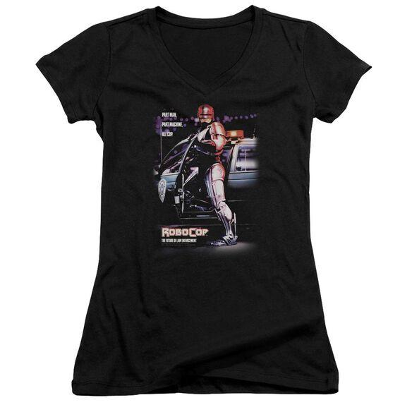 Robocop Poster Junior V Neck T-Shirt
