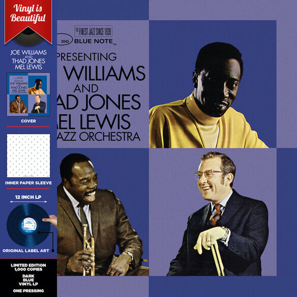 Joe Williams - Presenting Joe Williams and Thad Jones/Mel Lewis, the Jazz Orchestra