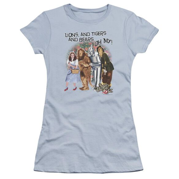 Wizard Of Oz Oh My Hbo Short Sleeve Junior Sheer Light T-Shirt