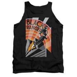 Power Rangers Black Ranger Deco Tank Top