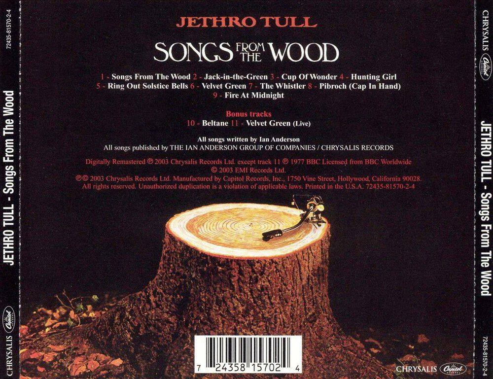 Songs From the Wood by Jethro Tull - New on CD | FYE