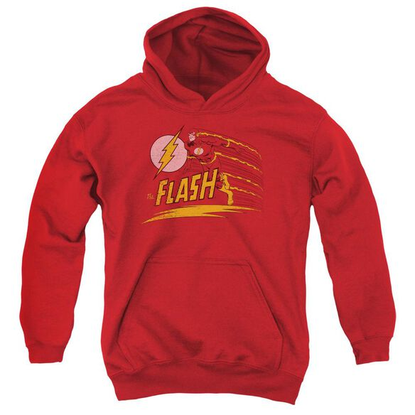 Dc Flash Like Lightning Youth Pull Over Hoodie