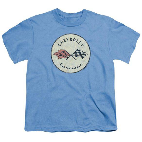 Chevrolet Old Vette Short Sleeve Youth Carolina T-Shirt