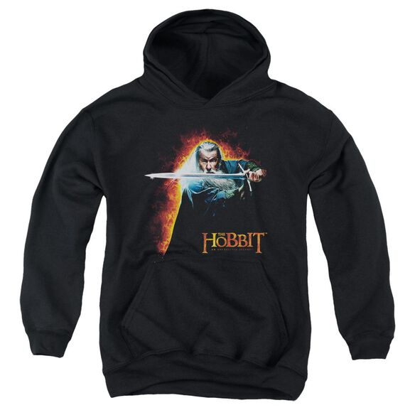 The Hobbit Secret Fire Youth Pull Over Hoodie