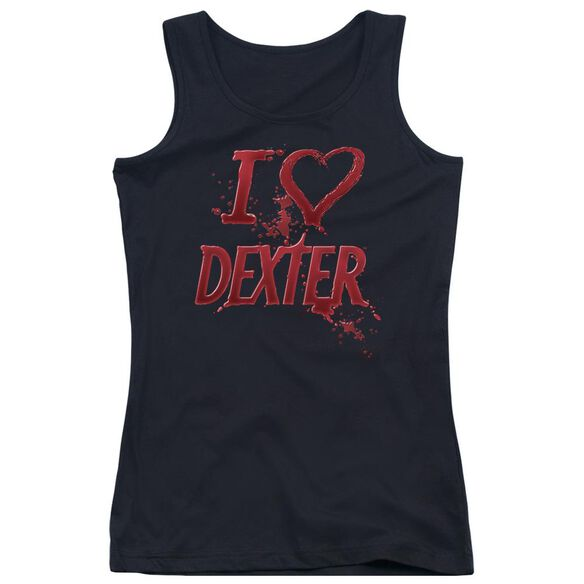 Dexter I Heart Dexter Juniors Tank Top