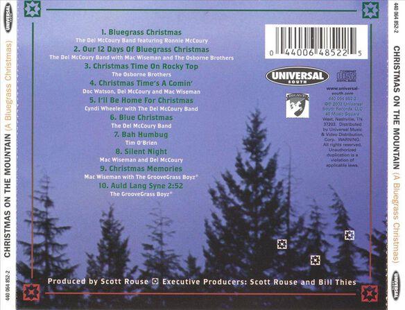 christmas on mountain a bluegrass christmas var - Bluegrass Christmas Music