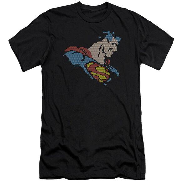 Dc Lite Brite Superman Premuim Canvas Adult Slim Fit