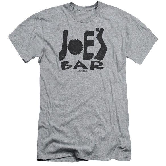 Bsg Joes Bar Logo Short Sleeve Adult Athletic T-Shirt