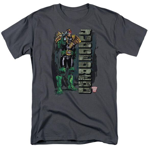 Judge Dredd Blam Short Sleeve Adult T-Shirt