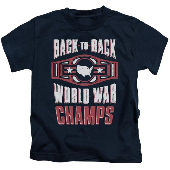 Ww Champs Short Sleeve Juvenile Navy T-Shirt