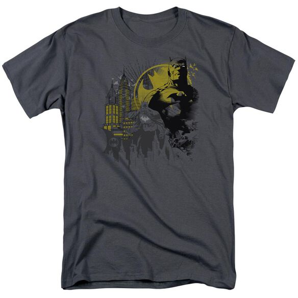 Batman The Dark City Short Sleeve Adult T-Shirt