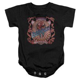 Dokken Back Attack Infant Snapsuit Black
