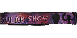 Regular Show Silhouettes Seatbelt Mesh Belt