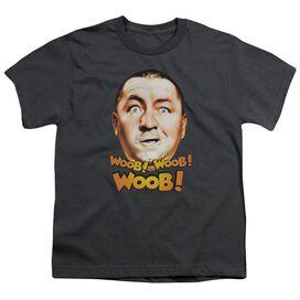 Three Stooges Woob Woob Woob Short Sleeve Youth T-Shirt