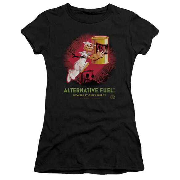 Popeye Alternative Fuel Short Sleeve Junior Sheer T-Shirt