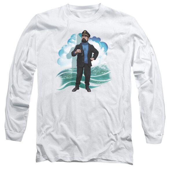 Tintin Haddock Long Sleeve Adult T-Shirt