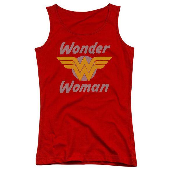 Dc Wonder Wings Juniors Tank Top