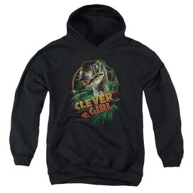 Jurassic Park Clever Girl-youth Pull-over Hoodie