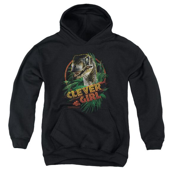 Jurassic Park Clever Girl Youth Pull Over Hoodie