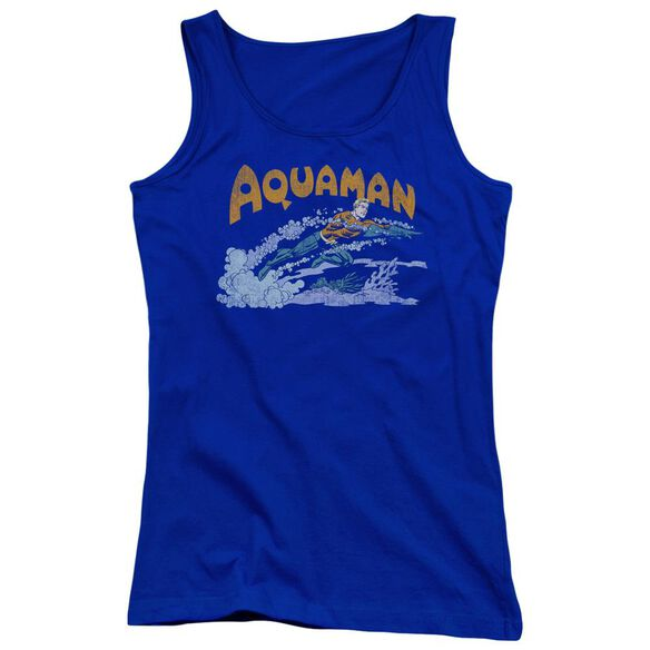 Dc Aqua Swim Juniors Tank Top Royal